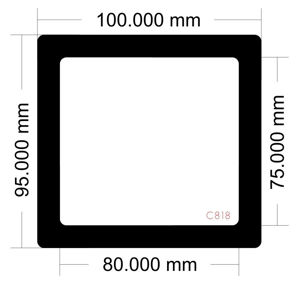 Picture of C818 - 100mm x 95mm
