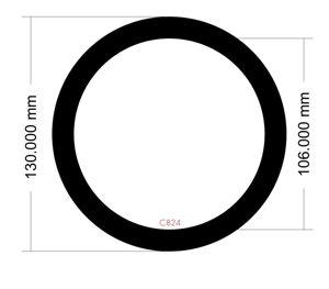 Picture of C824- Round 130mm diameter