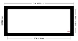 Picture of C826 - 314.325mm x 136.525mm
