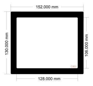 Picture of C830 - 152mm x 130mm