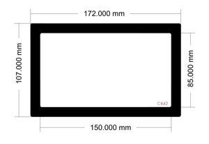 Picture of C842 - 172mm x 107mm