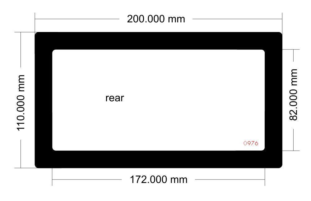 Picture of Lian-Li PC 011-Air Rear Filter