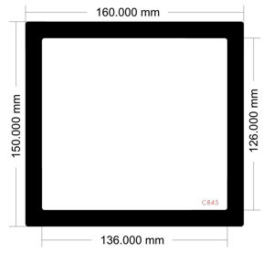 Picture of C845 -160mm x 150mm