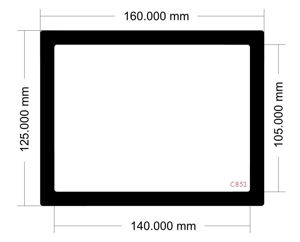 Picture of C854 -160mm x 125mm