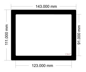 Picture of C847 - 143mm x 111mm