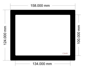 Picture of C849 - 158mm x 124mm
