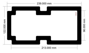 Picture of C865 - 239mm x 122mm