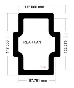 Picture of Corsair 400C Rear Fan Filter