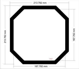 Picture of C869 - 214mm x 214mm Thermaltake Armor A30i Top filter