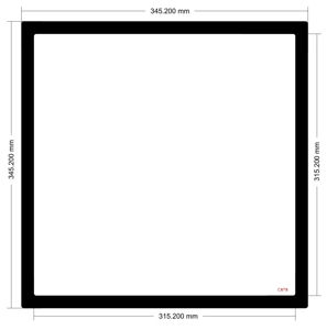 Picture of C878 - 345.2mm x 345.2mm