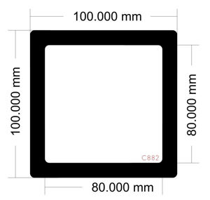 Picture of C882 - 100mm x 100mm