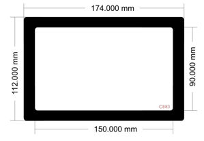 Picture of C884 - 174mm x 112mm