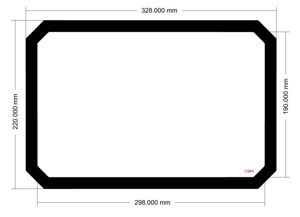 Picture of C889- 328mm x 220mm