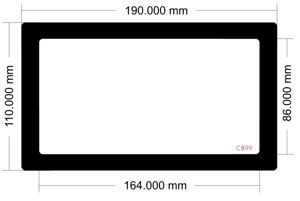 Picture of C899 - 190mm x 110mm