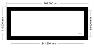 Picture of C901 - 269.6mm x 110mm