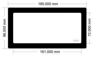 Picture of C902 - 185mm x 96mm