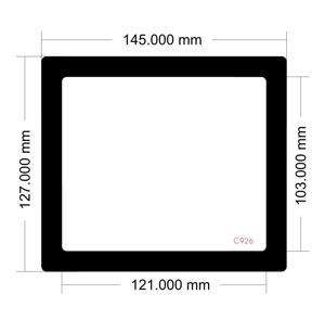 Picture of C926 - 145mm x 127mm