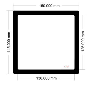 Picture of C934 - 150mm x 145mm