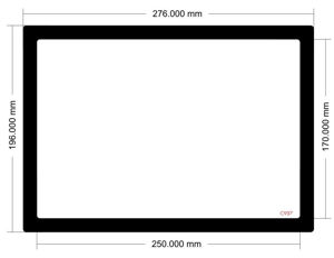 Picture of C937 - 276mm x 196mm