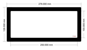 Picture of C943 - 278mm x  128mm
