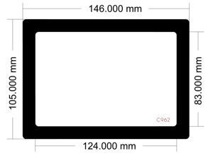 Picture of C962 - 145mm x 105mm