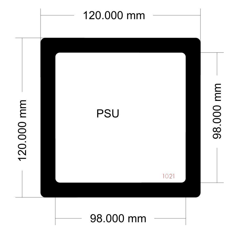 Picture of Corsair Carbide Spec-04 PSU Filter