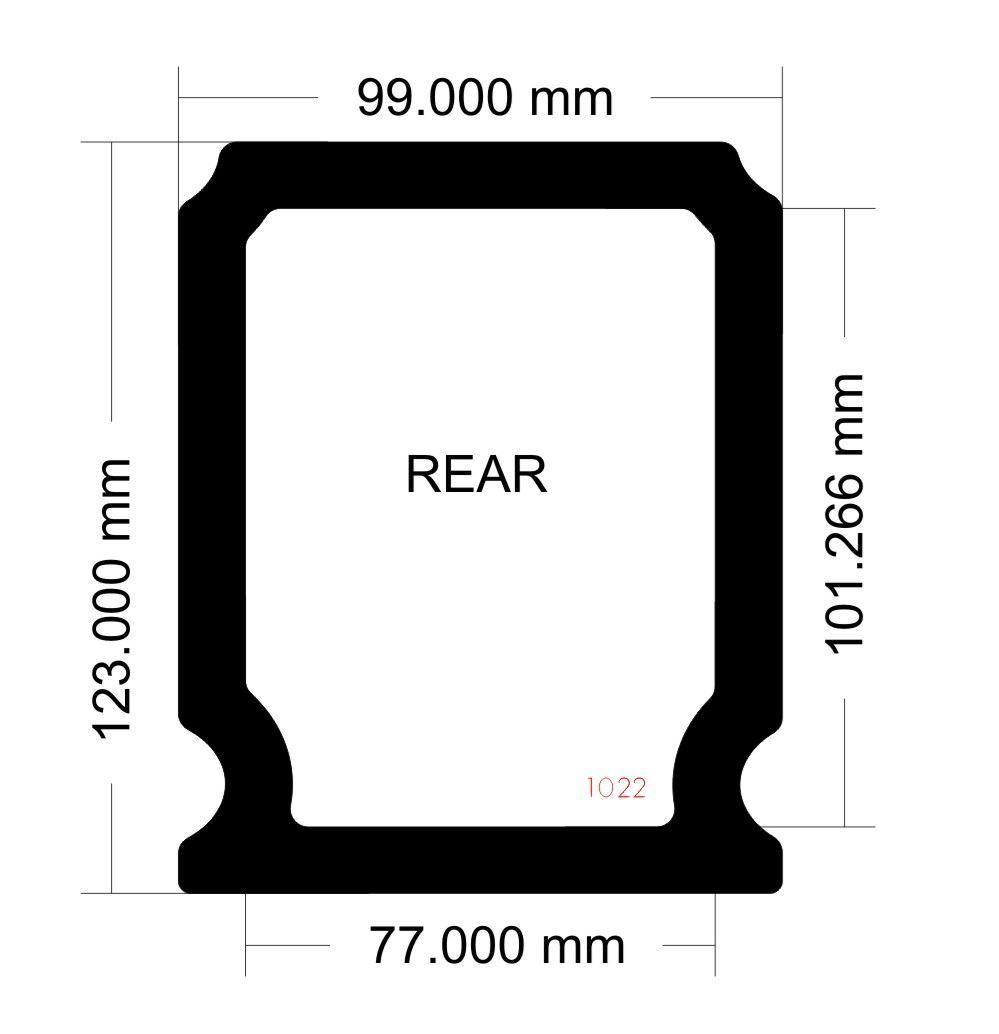 Picture of Corsair Carbide Spec-04 Rear Filter