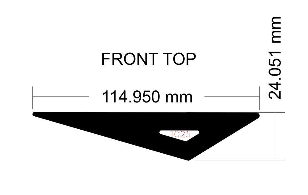 Picture of Corsair Carbide Spec-04 Front Top Filter