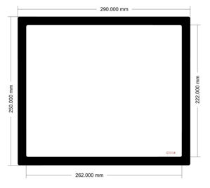 Picture of C1004 - 290mm x 250mm