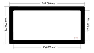 Picture of C1015 - 262mm x 133mm