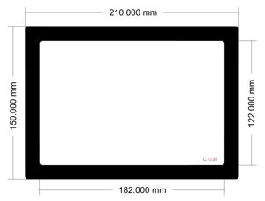 Picture of C1038 - 210mm x 150mm