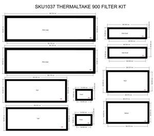 Picture of THERMALTAKE 900  Filter Kit