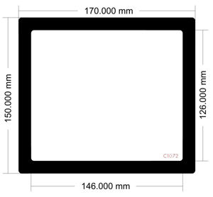 Picture of C1072-170mm x 150mm