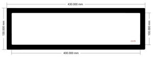 Picture of C1079- 430mm x 130mm
