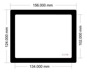 Picture of C1098 - 156mm x 124mm