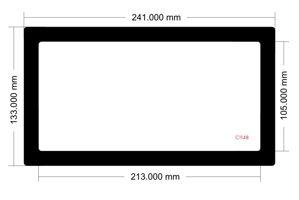 Picture of C1148 - 241mm x 133mm Sliger SM560 Bottom Filter