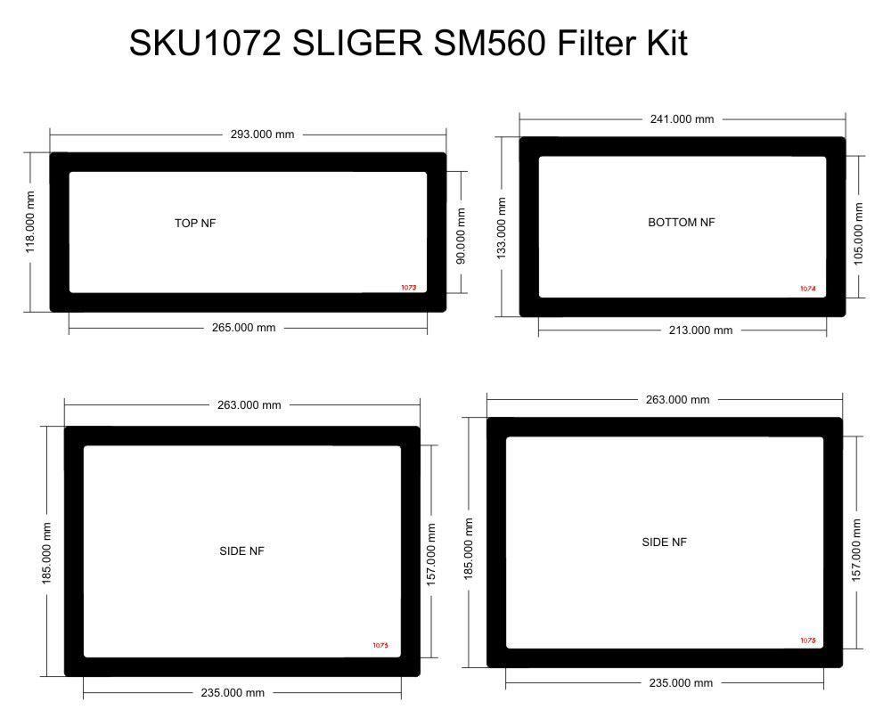 Picture of Sliger SM560 Filter Kit