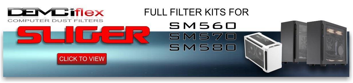 Sliger Computer Case  Dust Filters
