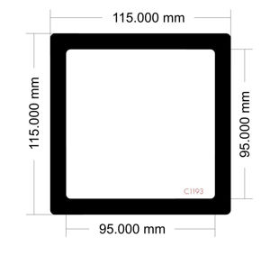 Picture of C1193 - 115mm x 115mm