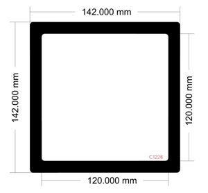 Picture of C1228 - 142mm x 142mm