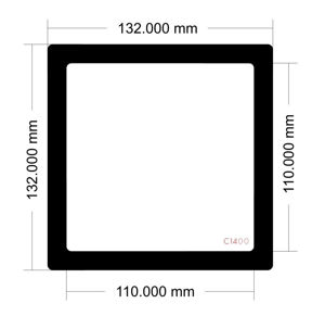 Picture of C1400 - 132mm x 132mm