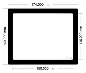 Picture of C1402 - 174mm x 140mm