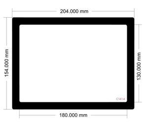 Picture of C1404 - 204mm x 154mm Lian Li PC7B Side Filter