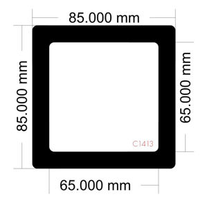 Picture of C1413 - 85mm x 85mm