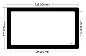 Picture of C1417 - 223mm x 128mm