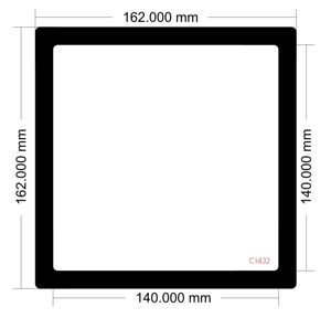 Picture of C1432 - 162mm x 162mm