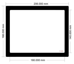 Picture of C1433 - 206mm x 166mm