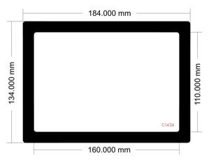 Picture of C1434 - 184mm x 134mm