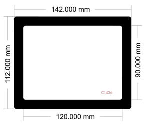 Picture of C1436 - 142mm x 112mm