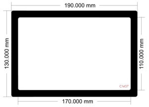 Picture of C1437 - 190mm x 130mm
